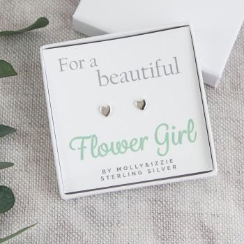 Flowergirl Sterling Silver Earrings