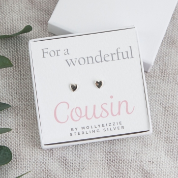 Cousin Sterling Silver Earrings