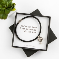Home & Adventure Bracelet In Gift Box