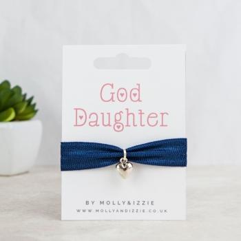 God Daughter Stretch Bracelet - adult size