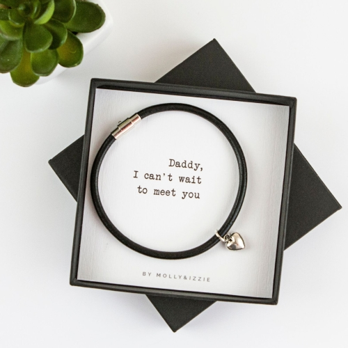 Can't Wait To Meet You Bracelet In Gift Box