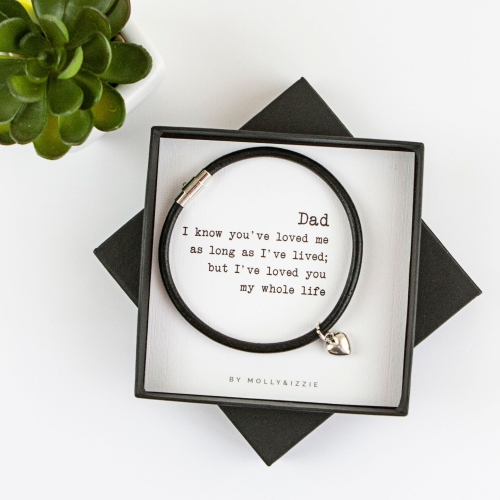 Dad, Whole Life Bracelet In Gift Box