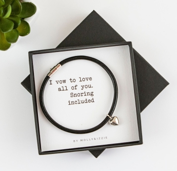 Snoring Included Bracelet In Gift Box