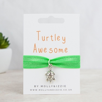 Turtley Awesome Stretch Bracelet - adult size