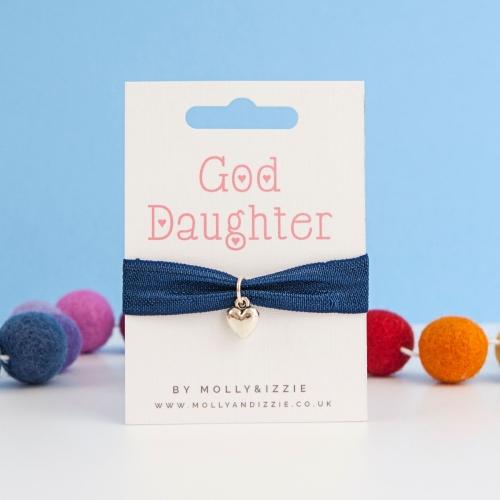 God Daughter Stretch Bracelet - child size