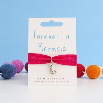 Mermaid Stretch Bracelet - child size