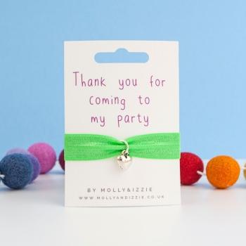 Party Favour Stretch Bracelet - child size