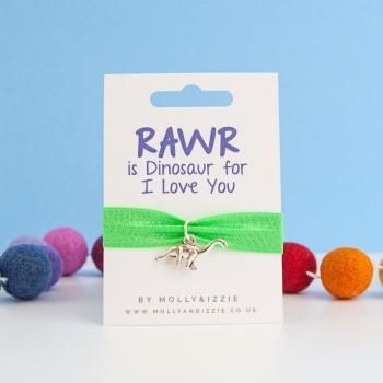Rawr Stretch Bracelet - child size