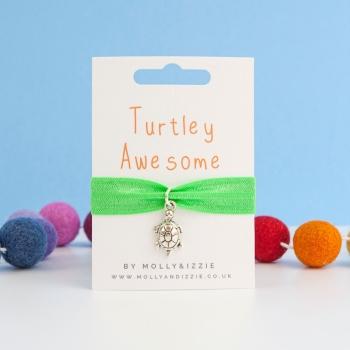 Turtley Awesome Stretch Bracelet - child size