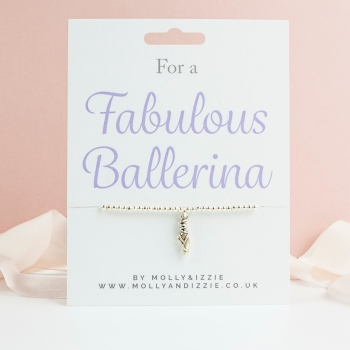 Ballerina Beaded Bracelet - Child Size