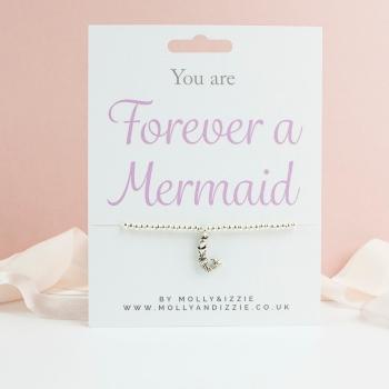 Mermaid Beaded Bracelet - Child Size