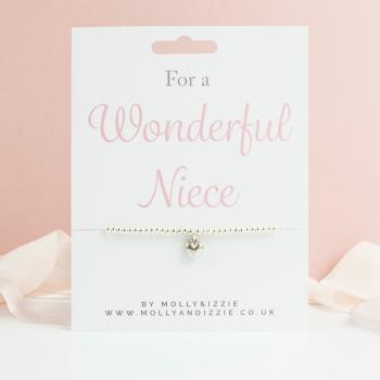 Niece Beaded Bracelet - Child Size
