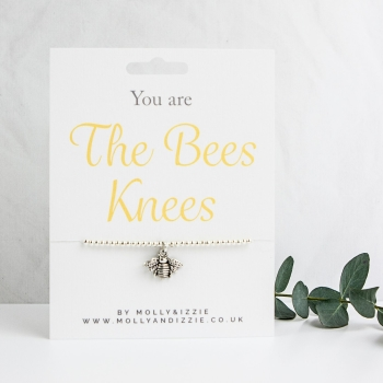 Bees Knees Beaded Bracelet - Adult Size
