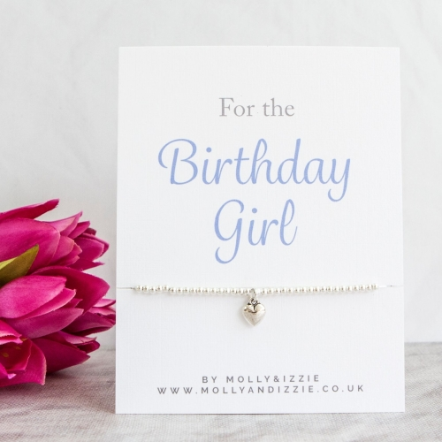 Birthday Girl Beaded Bracelet - Adult Size