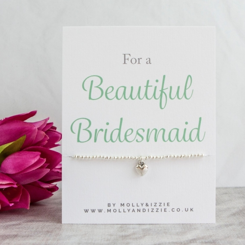 Bridesmaid Beaded Bracelet - Adult Size