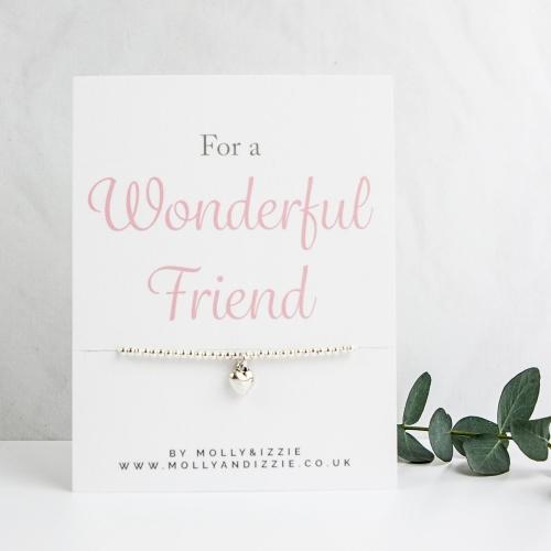 Friend Beaded Bracelet - Adult Size