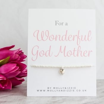 God Mother Beaded Bracelet - Adult Size