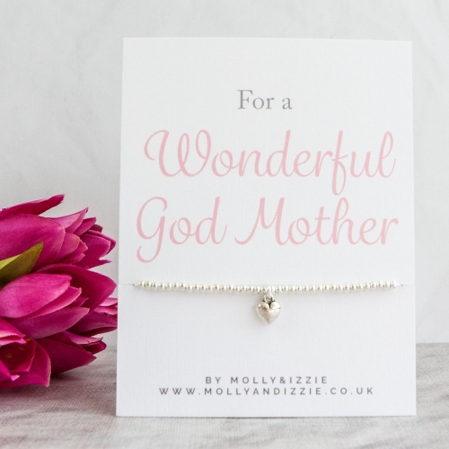 God Mother Beaded Bracelet - Adult Size