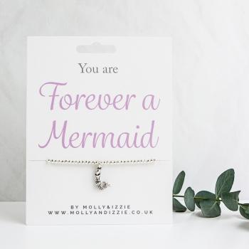 Mermaid Beaded Bracelet - Adult Size
