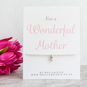 Mother Beaded Bracelet - Adult Size