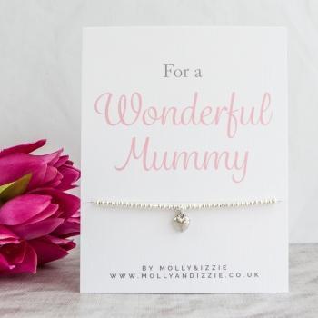 Mummy Beaded Bracelet - Adult Size