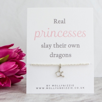 Real Princesses Beaded Bracelet - Adult Size