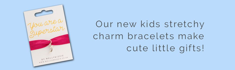 New stretch charm bracelets