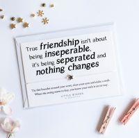 Inseperable Friendship