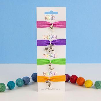 Set Of Four Stretch Bracelets - child size