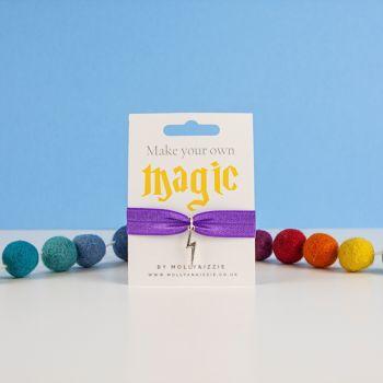 Magic Stretch Bracelet - Child size purple