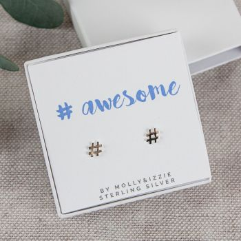 Awesome Sterling Silver Earrings