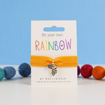 Be Your Own Rainbow Stretch Bracelet - Child size