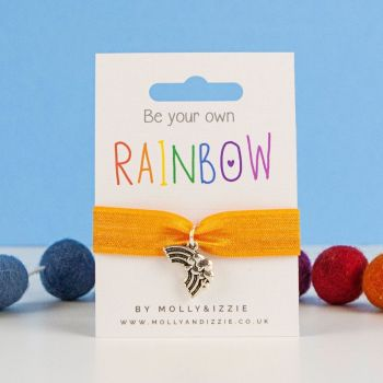 Be Your Own Rainbow Stretch Bracelet - adult size