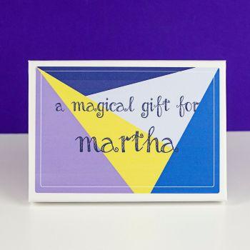 Personalised Magic Gift Set