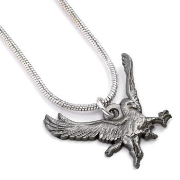 Harry Potter Buckbeak Necklace - Silver Plate