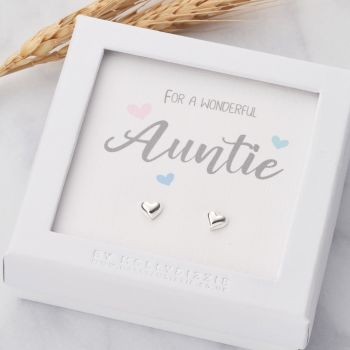 Auntie Sterling Silver Earrings