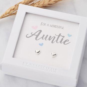 Auntie Sterling Silver Earrings ER005
