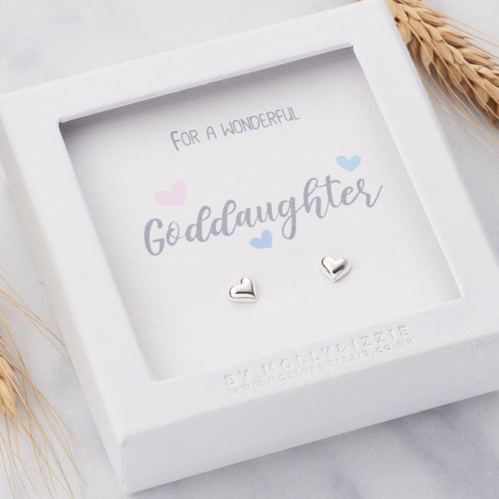 Goddaughter Sterling Silver Earrings