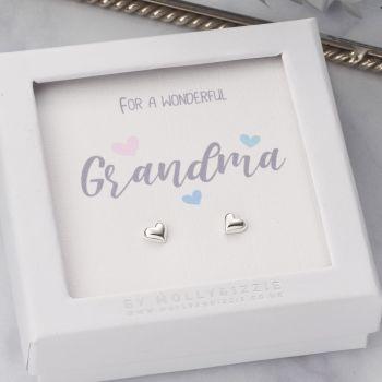 Grandma Sterling Silver Earrings ER036