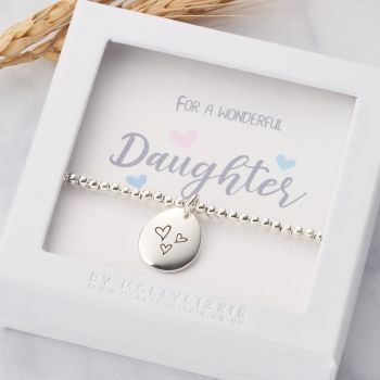 Daughter Beaded Bracelet-PB017