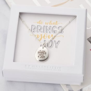 Do What Brings You Joy Necklace-PN013