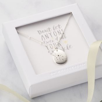 Don't let Anyone Dull Your Sparkle Necklace-PN019
