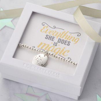 Everything She Does Is Magic Beaded Bracelet-PB025