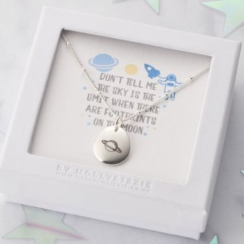Don't Tell Me The Sky Is The Limit Necklace