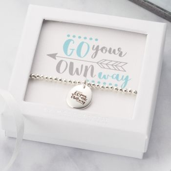 Go Your Own Way Beaded Bracelet-PB033