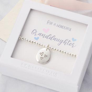 Granddaughter Beaded Bracelet-PB084
