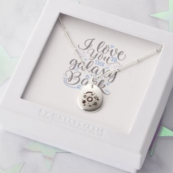 I Love You To The Galaxy and Back Necklace