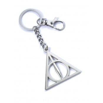 Harry Potter Deathly Hallows Keyring - Metal