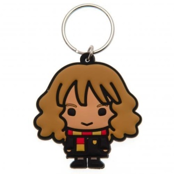 Harry Potter Hermione Keyring - Rubber