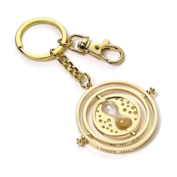 Harry Potter Spinning Time Turner Keyring - Metal